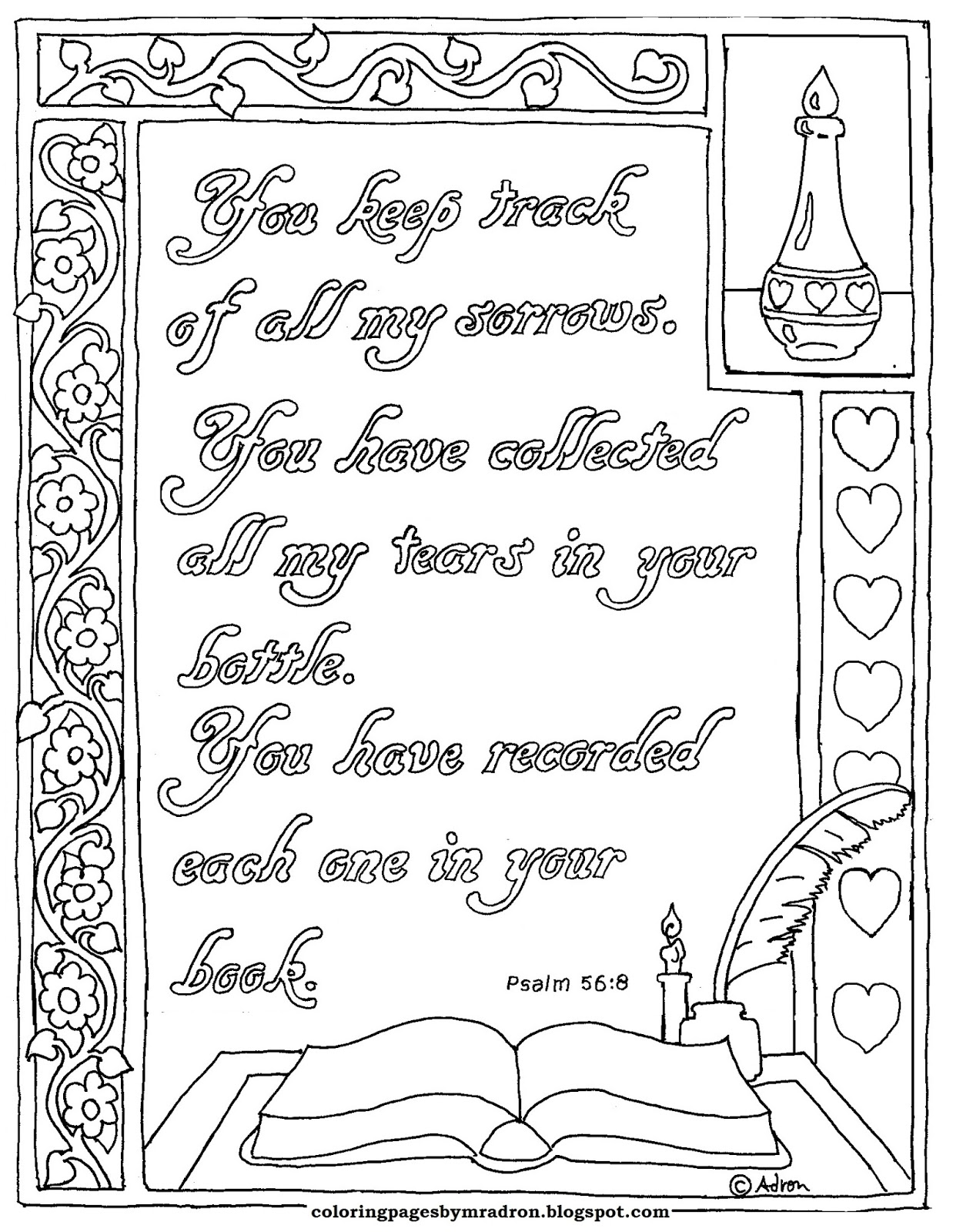 Coloring Pages for Kids by Mr. Adron: August 2017