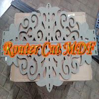 Jasa Router CNC bahan MDF, ACP, PVC, Kayu