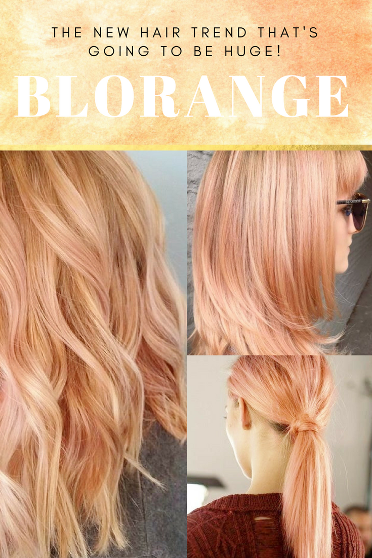 new spring hair trend: blorange | makeup savvy - makeup and beauty blog
