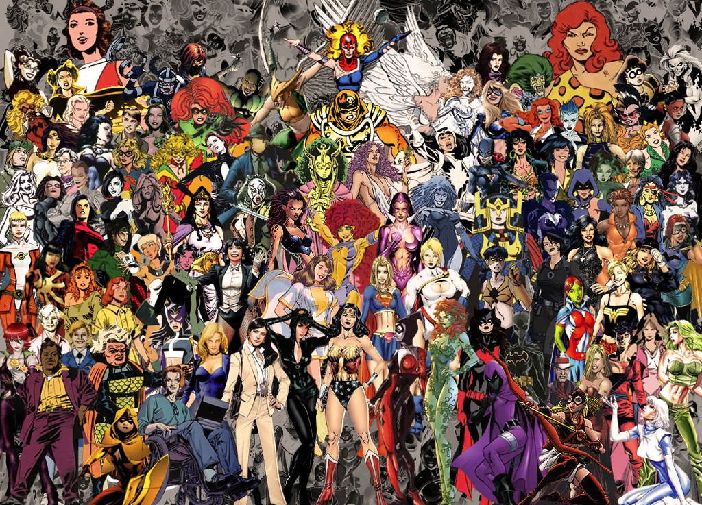 Foxcat 39 s life superheroines and supervillainesses of dc - Dc characters wallpaper hd ...