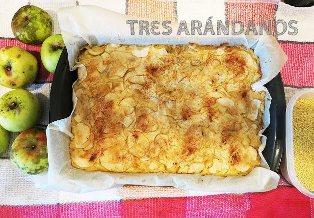 soufle de manzana sin gluten