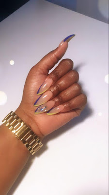 because this nail inspo is going to create you would like a new paint job stat +25 Latest Matte And Celebrity Nail Art design To Copy In 2019
