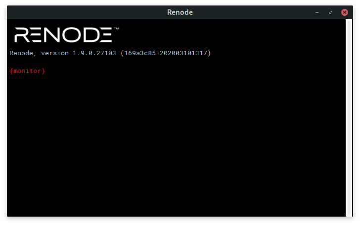 "The Renode ""Monitor"" CLI"