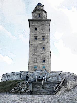 Patrimonio de la Humanidad en Europa y América del Norte. España. Torre de Hércules.