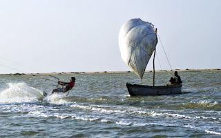 Kite Kalpitiya Lagoon