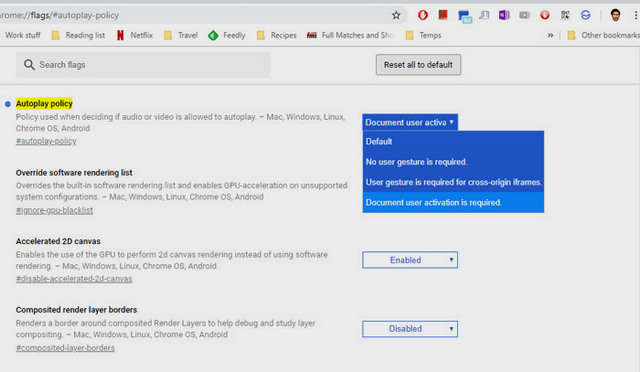 كيفية تعطيل التشغيل التلقائى للفيديوهات بالمواقع في جوجل كروم وفايرفوكس