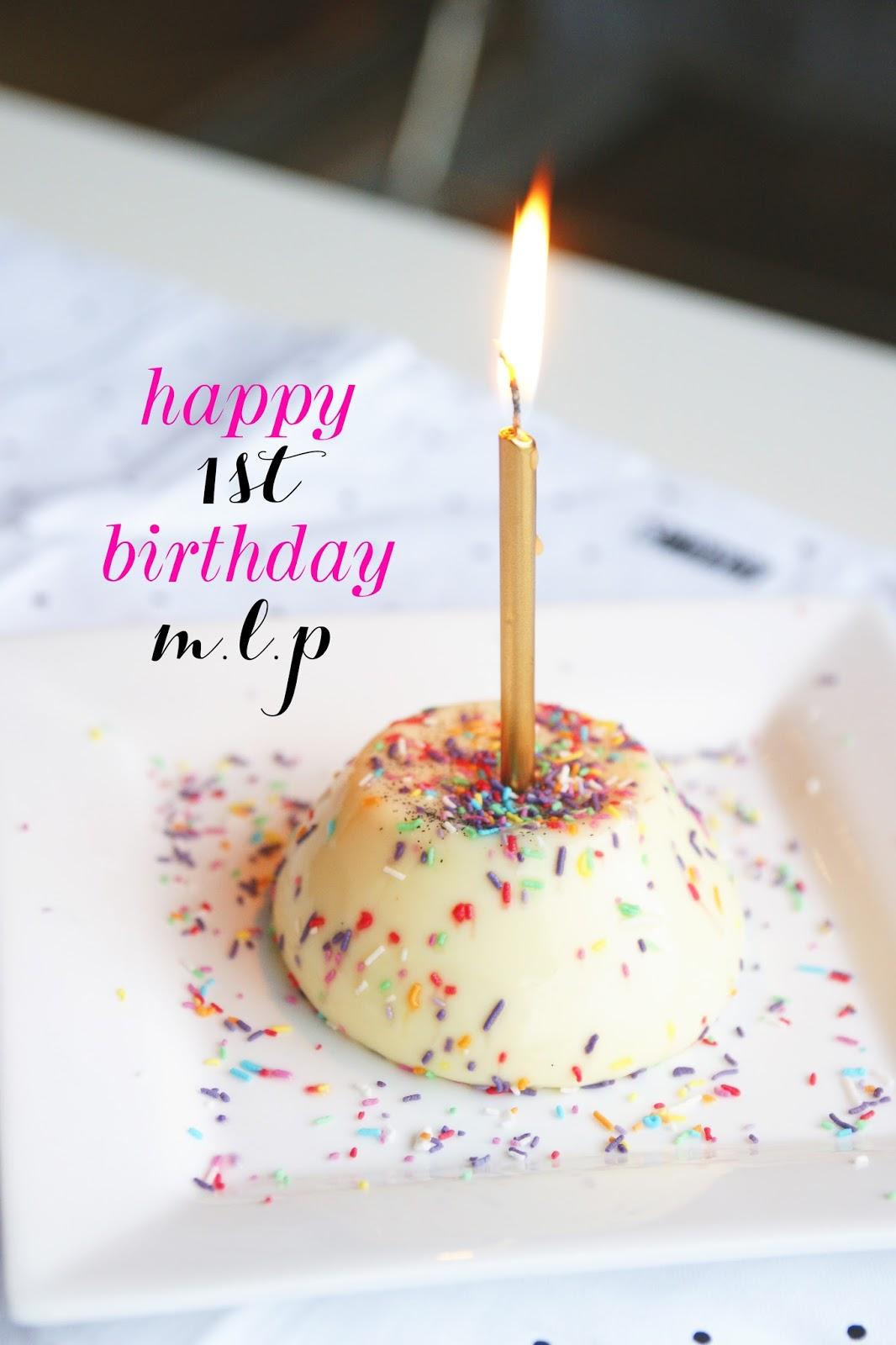 Happy 1st Birthday M L P Mia Loves Pretty