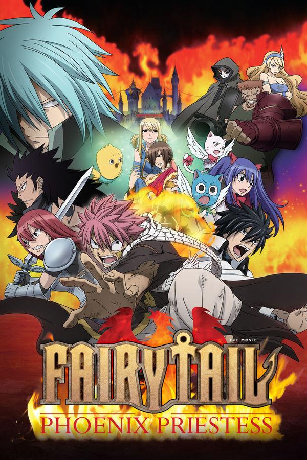 Fairy Tail: La Sacerdotisa del Fénix |Cast/Jap/Ing| |Película| |Mega|