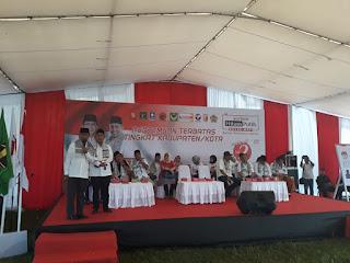 <b>Kampanye di Pujut Loteng, Ahyar-Mori Janji Entaskan Kemiskinan dan Bangun Bendungan Mujur</b>
