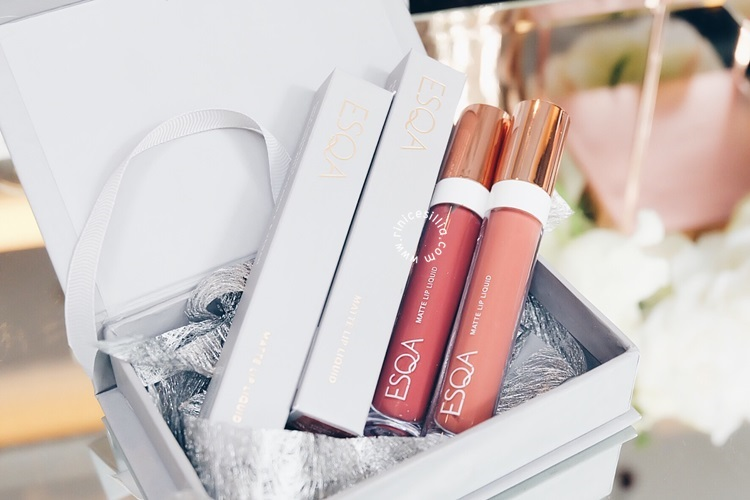 ESQA COSMETICS MATTE LIP LIQUID REVIEW