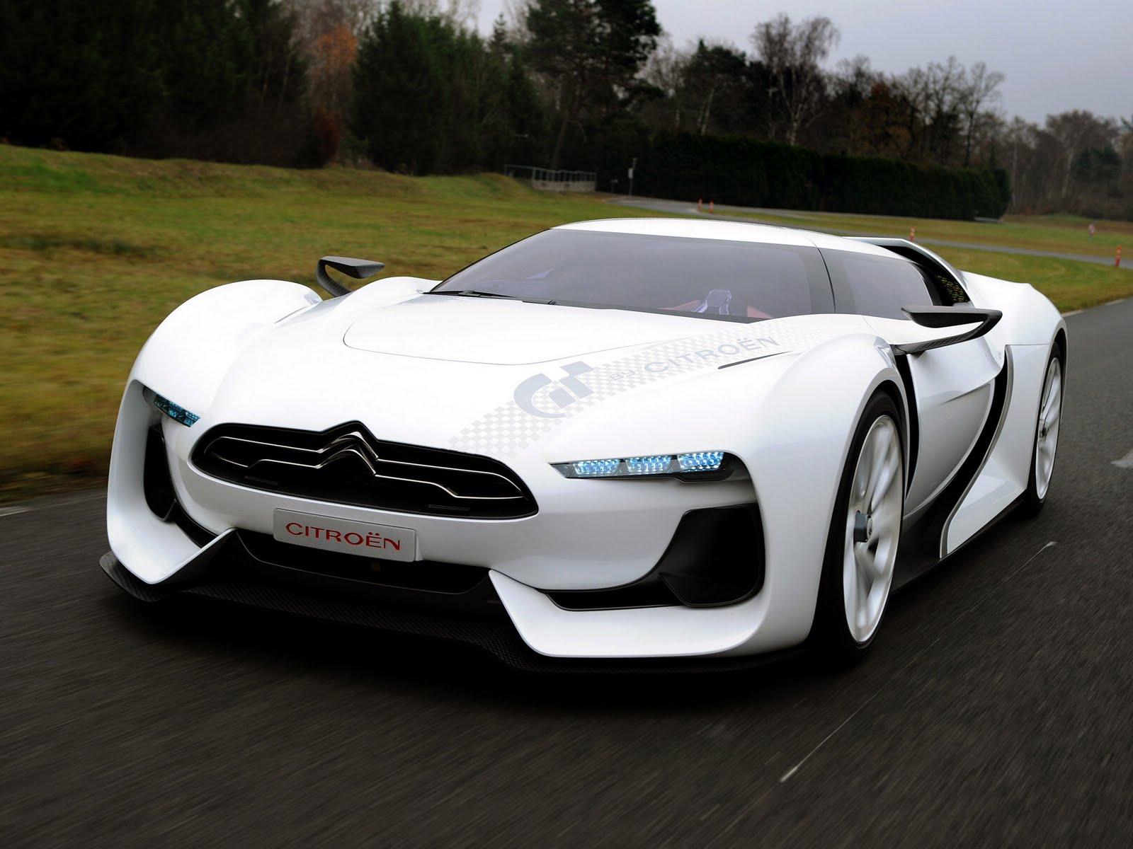 Citroen Gt Concept Futuristic Sporty Designed For Gran