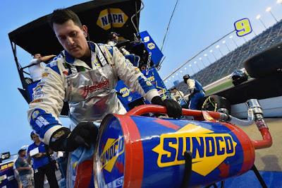 #NASCAR Fueler John Gianninoto Hard at Work