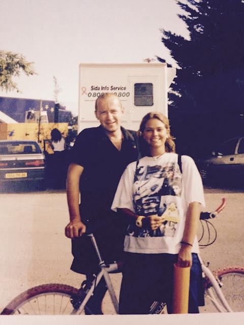 AJ Rankin and I - I met Bono´s cousin backstage U2