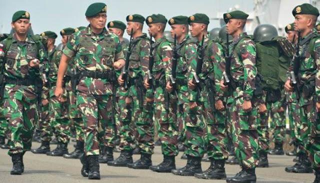 TNI Sudah Kirim Infanteri Satu Batalion ke Perbatasan