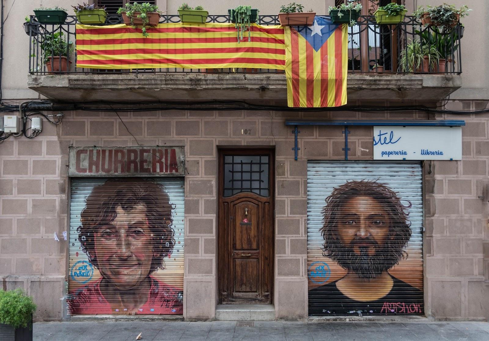 Gooool ! の聞こえる中庭から: どうなるカタルーニャのレファレンダム?