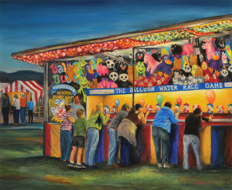 Three County Fair, 16x20 inches, Private Collection