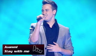 Juanmi Castillero canta: Stay With Me-La Voz