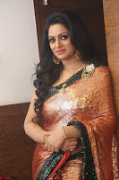Udaya Bhanu lookssizzling in a Saree Choli at Gautam Nanda music launchi ~ Exclusive Celebrities Galleries 118.JPG