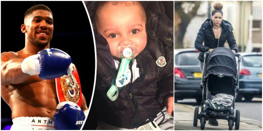 Anthony Joshua shares photos of his son