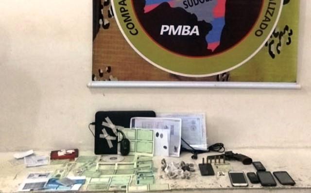Polícia desarticula quadrilha que falsificava RG, CNH e Certidão de Nascimento, em Conquista