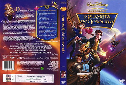 Planeta do Tesouro (Treasure Planet) Torrent - BluRay Rip