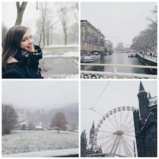 Clothes & Dreams: Instadiary: snow in Belgium