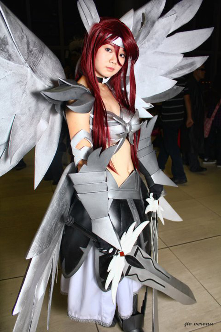 Fairy tail cosplay photography erza scarlet cosplay - Fairy tail erza sexy ...