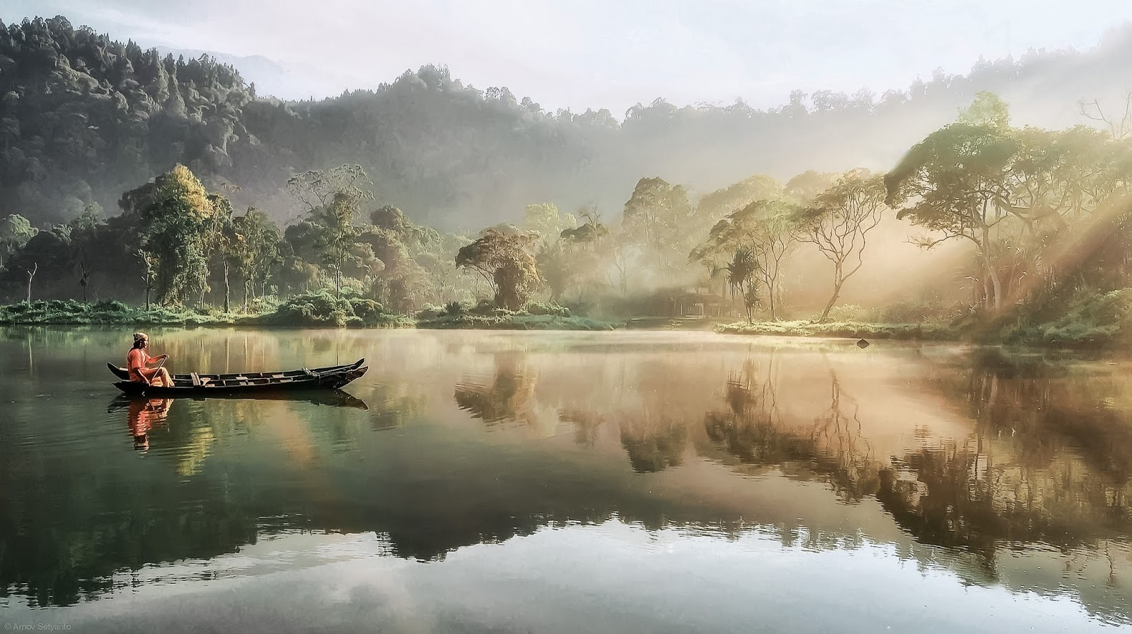 gambar 1 - wisata danau situ gunung