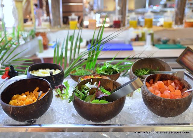 Tahiti dish at Lapita's Daycation Brunch