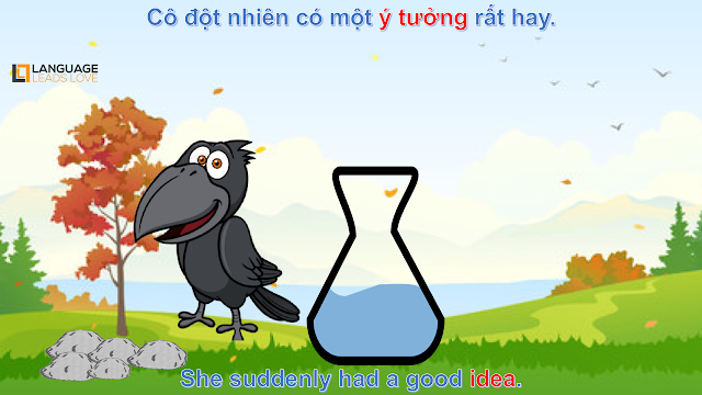 [Story Kids 4] The Thirsty Crow | Learning English for Kids | Language Leads Love | Cartoon Kids