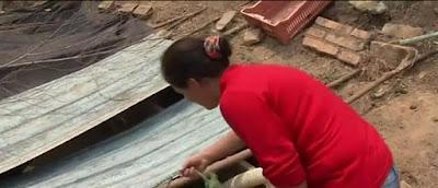 """""""Ηρωίδα"""" βγάζει τα παιδιά της από φλεγόμενο σπίτι"""