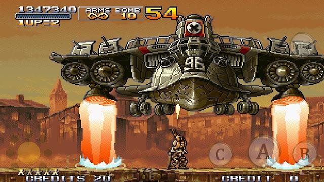 تحميل لعبة حرب الخليج القديمة للكمبيوتر والاندرويد برابط واحد مباشر ميديا فاير download metal slug free