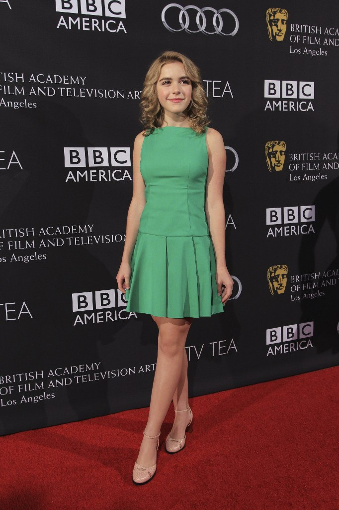Kiernan Shipka Appear at BAFTA TV Tea