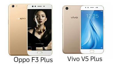 Oppo F3 Plus vs Vivo V5 Plus