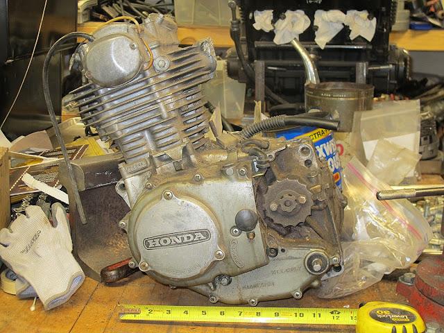 Honda XL 350 Motor