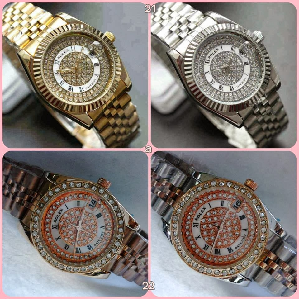 NEW ROLEX ROMAWI+DATE GOLD   SILVER Rp. 225.000 9552def993