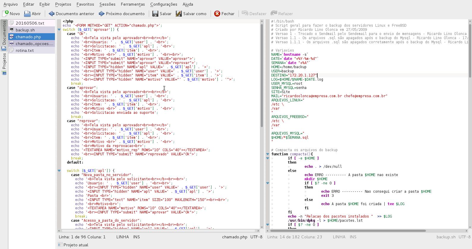 Kate : Un editor de Texto avanzado ( Ubuntu ) ~ Novedad23 : Todo ...