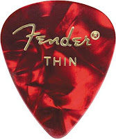 Fender Thin Celluloid Guitar Pick