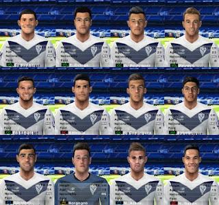 PES 6 Facepack Vélez Sarsfield 2018/2019 by Cuervo96