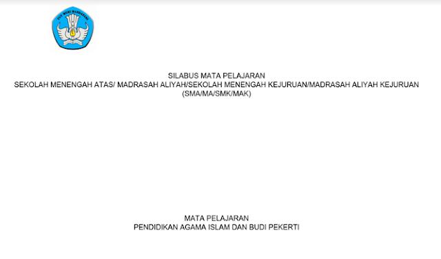 Silabus SMA Pendidikan Agama Islam Kurikulum 2013