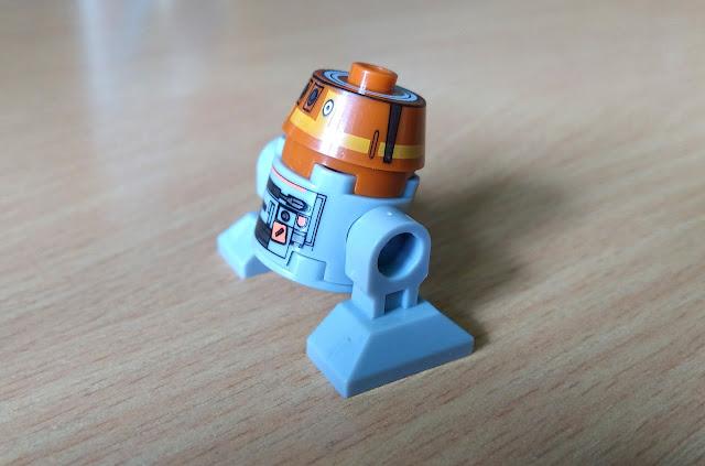 Дроид Чоппер Звездные войны фигурка lego купить