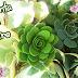 Suculenta em Feltro / Succulent in Felt