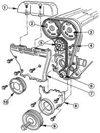 Parts Diagrams  Ford Fiesta Timing Belts Diagrams
