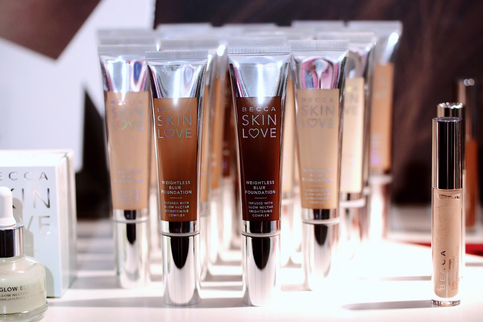 becca collection noel 2018 automne fall skin love chrissy tigen