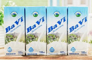 sữa tươi ba vì