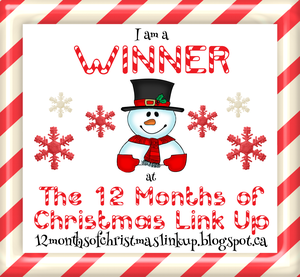 12 Months of Christmas Link Up #13 Winner!