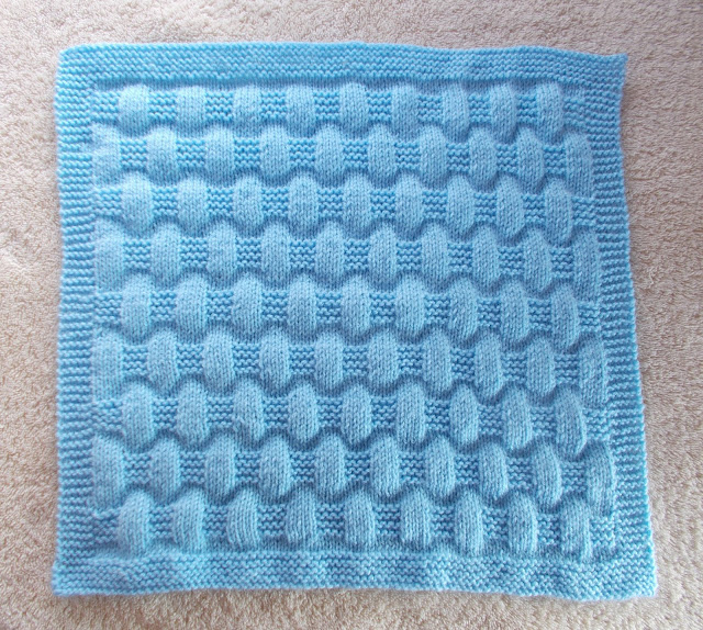 Jordan Baby Blanket-free easy knitting pattern