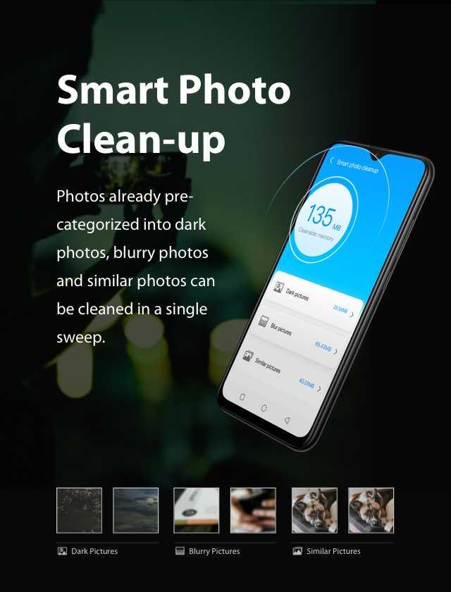 XOS 5.0 Cheetah Smart Photo Cleanup