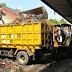 Bego Masuk Pasar Gunung Sampah Habis. Pedagang Plong