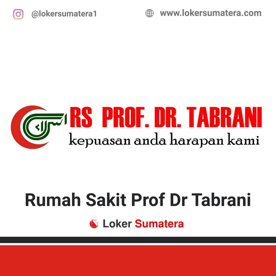 Lowongan Kerja Pekanbaru: RS Prof. Dr. Tabrani Oktober 2020